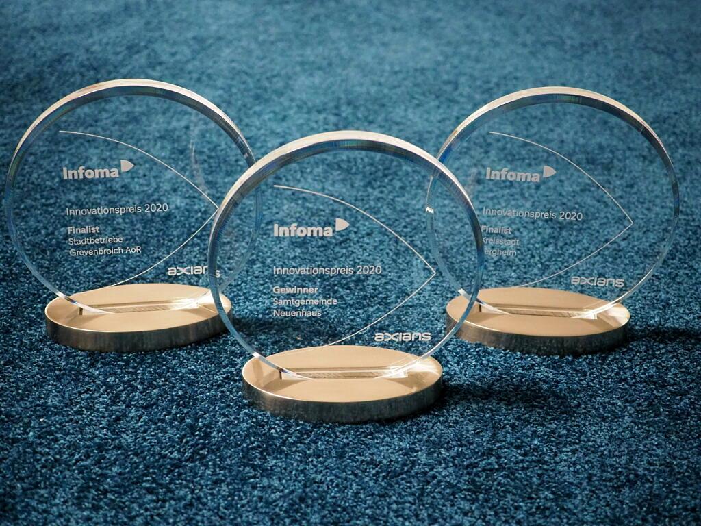 Innovationspreis 2020 für vorbildliche Digitalisierungsprojekte