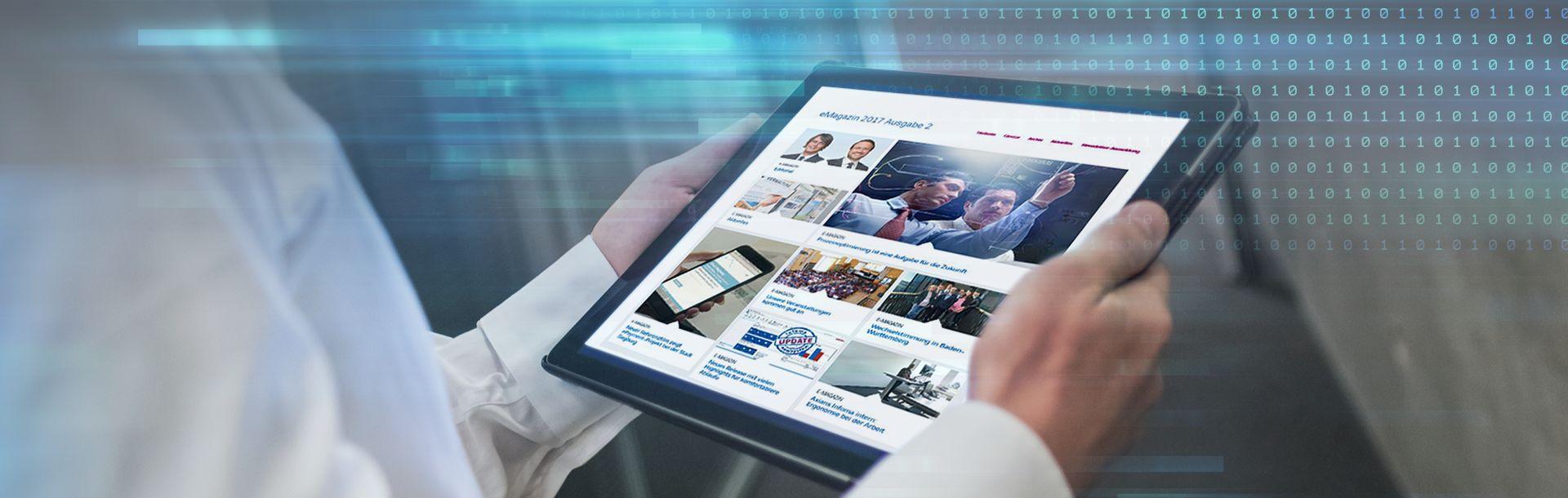 Die neue eMagazin-Ausgabe ist online - gleich reinklicken!