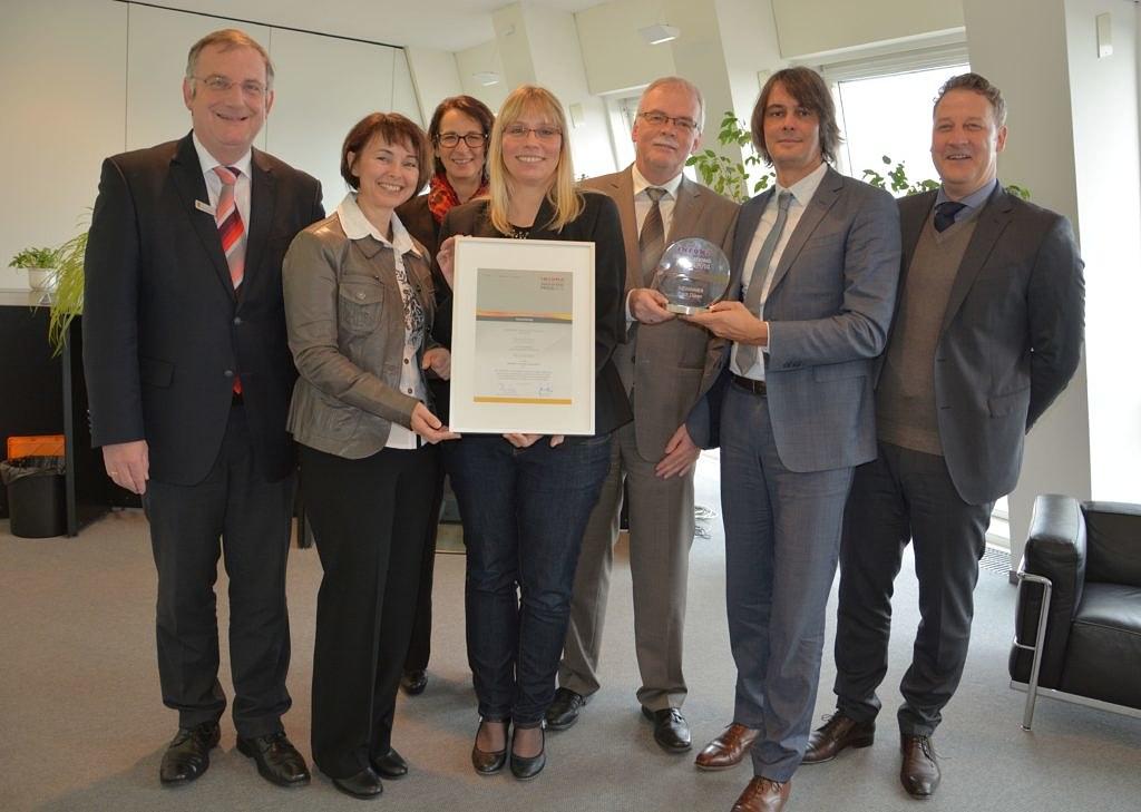 Stadt Düren ist Gewinner des INFOMA Innovationspreises 2014