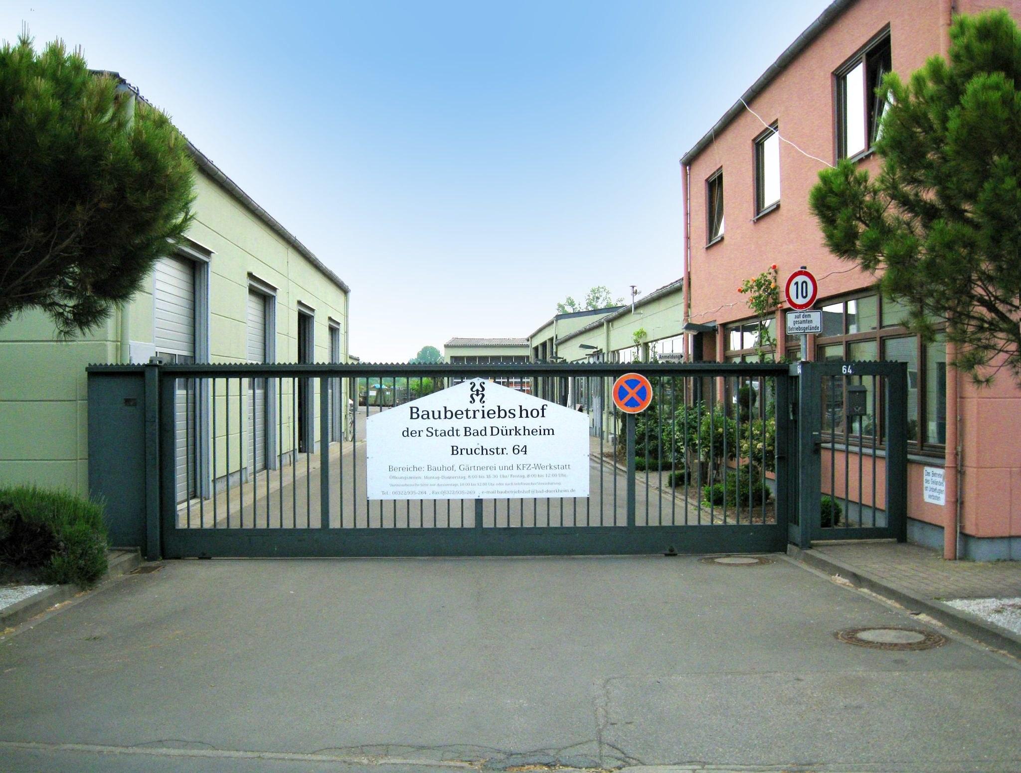 Referenzbericht Baubetriebshof Bad Dürkheim