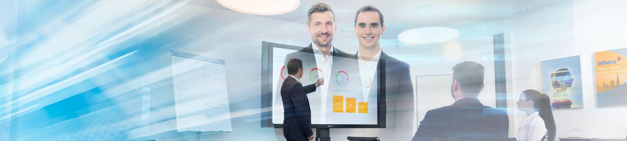 Berichtswesen Plus und Business Intelligence – Liefern einheitliche und zentrale Informationen für alle Bereiche