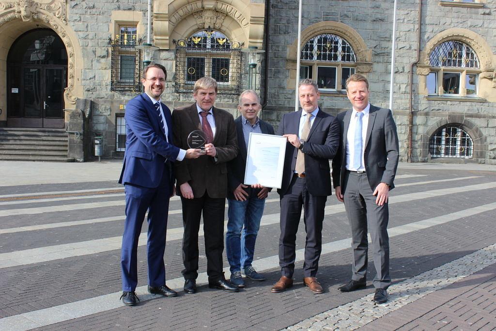 Innovationspreis 2016 von Axians Infoma geht an die Stadt Remscheid