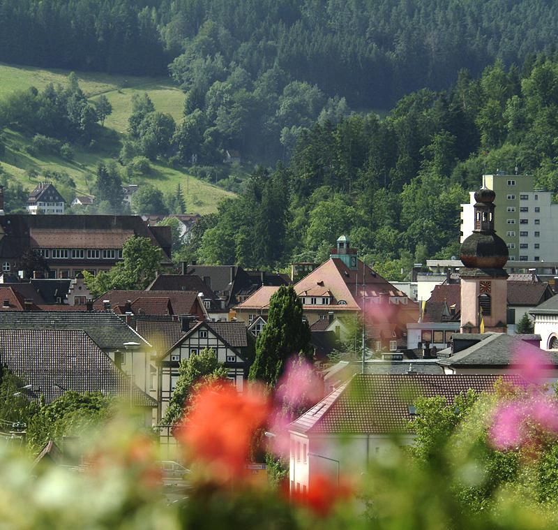 Schramberger Stadtzentrum