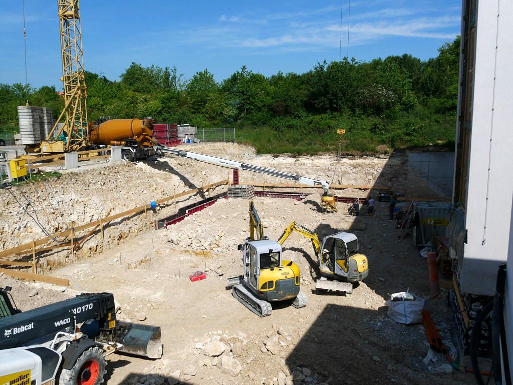 Neubaumaßnahmen am Standort Ulm