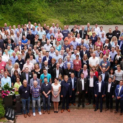 Mit knapp 380 Teilnehmern war es das bislang größte Treffen.