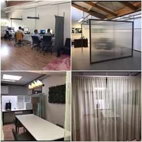 Räumlichkeiten wurden in kurzer Zeit in eine individuelle Bürofläche umgestaltet.