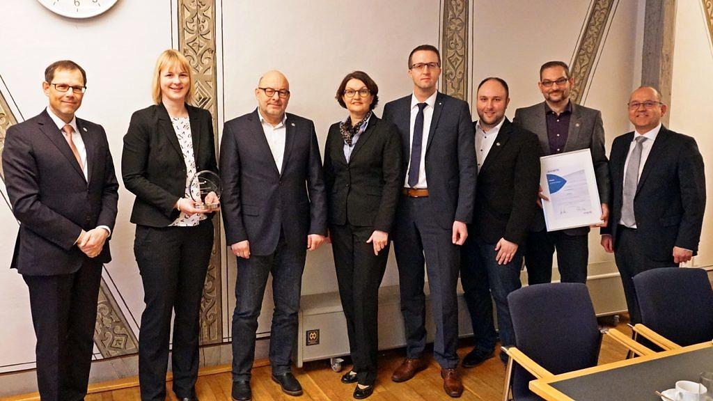 Stadt Wolfenbüttel überzeugt mit Projekt zur Digitalisierung des Finanzmanagements