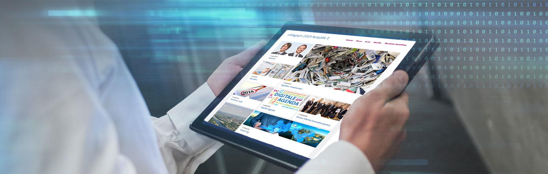 Unser neues eMagazin<br />ist online!