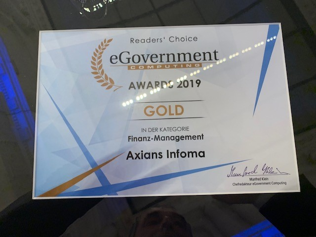 eGovernment Awards 2020 – Erneute Nominierung!