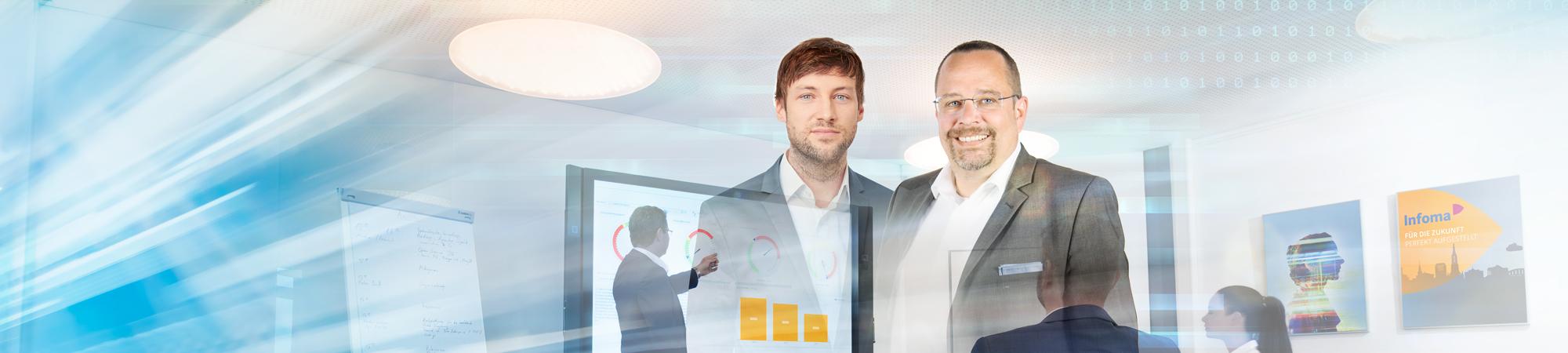 Integriertes Berichtswesen Plus und Business Intelligence – Liefern einheitliche und zentrale Informationen für alle Bereiche