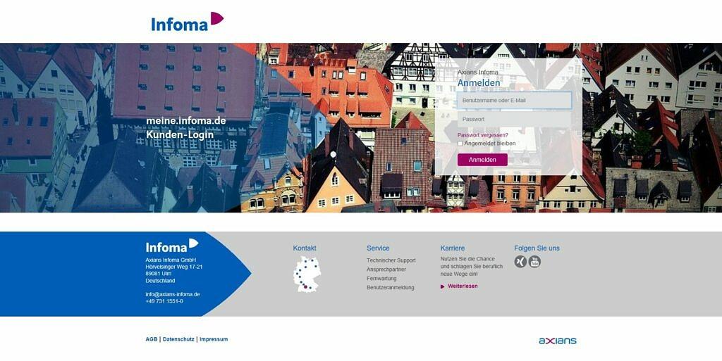 Neuer Auftritt für meine.infoma.de