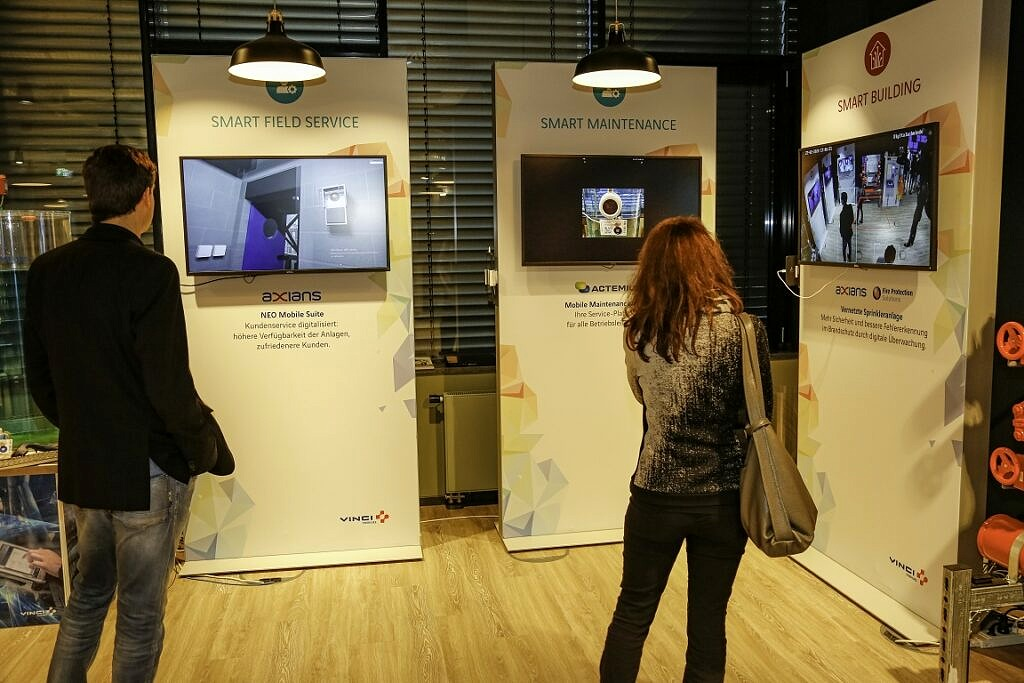 Smart City Welt in der Digitalschmiede